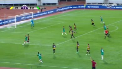 هدف الرجاء الثالث ضد الاتحاد 3-2 البطولة العربية