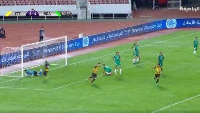 هدف الاتحاد الثالث ضد الرجاء المغربي 3-4 البطولة العربية