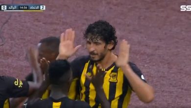 هدف أحمد حجازي ضد الرائد 2-0 الدوري السعودي