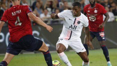 نتيجة مباراة باريس سان جيرمان وليل في كاس السوبر الفرنسي