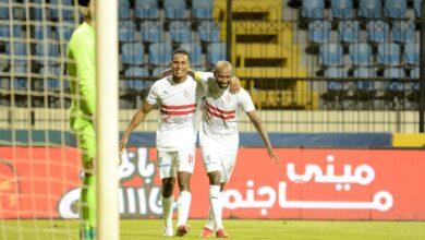 نتيحة مباراة الزمالك وغزل المحلة في الدوري المصري