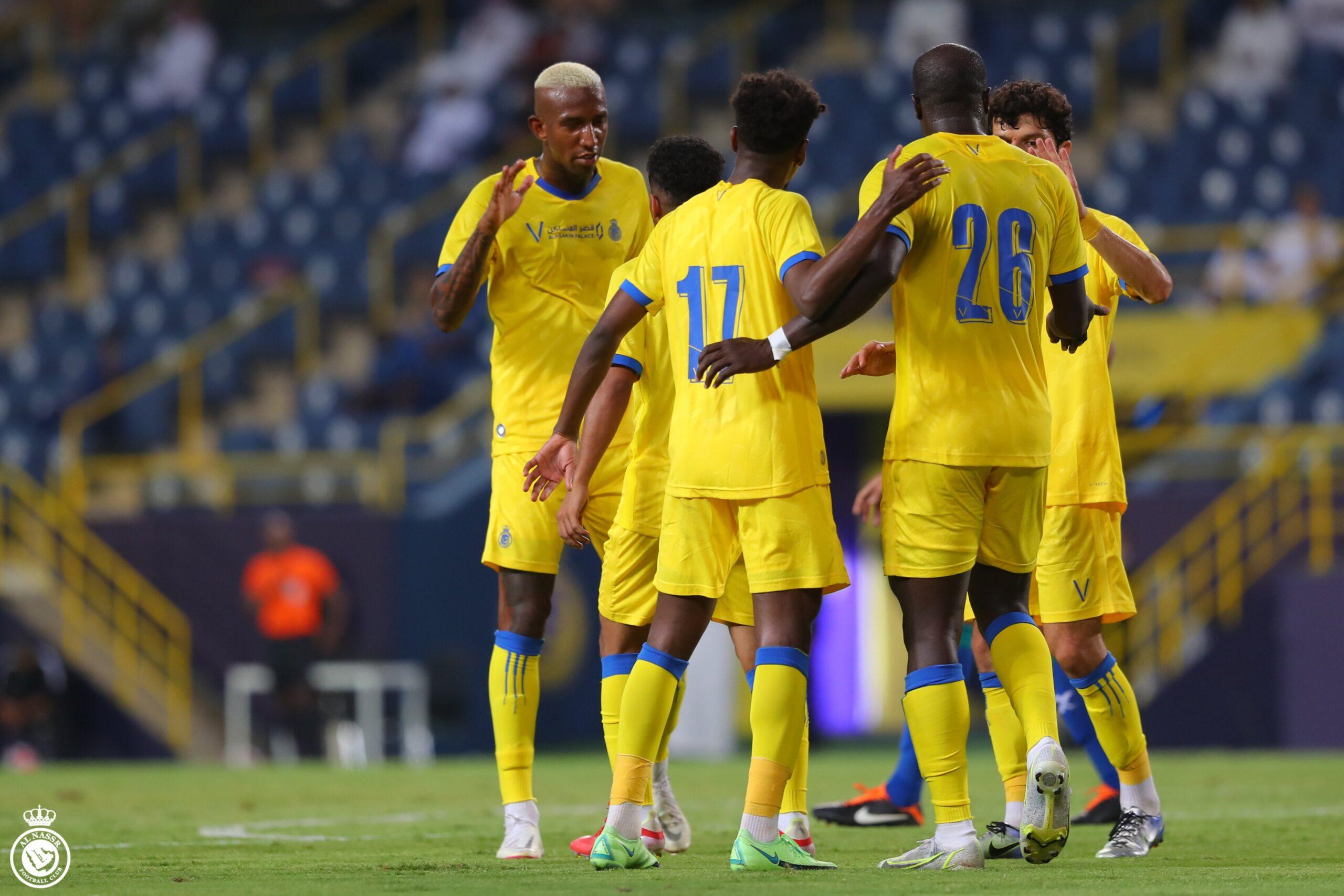 اهداف مباراة النصر والشعلة 5-0 مباراة ودية