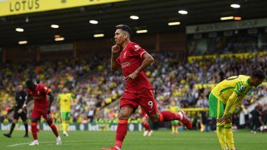 هدف فيرمينو في مرمى نوريتش سيتي 2-0 الدوري الانجليزي