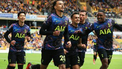 هدف توتنهام الاول ضد وولفرهامبتون 1-0 الدوري الانجليزي