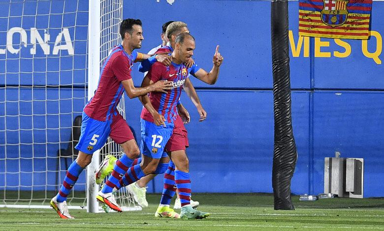 هدف برشلونة الثاني في مرمى يوفنتوس 2-0 كأس خوان جامبر