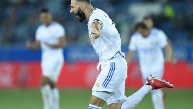 هدف كريم بنزيما في مرمى الافيس 1-0 الدوري الاسباني
