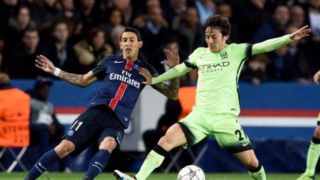 باريس سان جيرمان ومانشستر سيتي دوري الابطال 2016