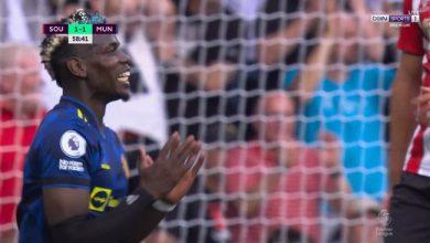 اهداف مانشستر يونايتد ضد ساوثهامبتون 1-1 الدوري الانجليزي