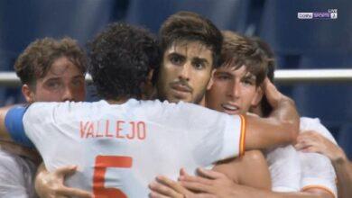 اهداف مباراة اسبانيا واليابان 1-0 اولمياد طوكيو