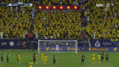 هدف النصر الثاني ضد التعاون 2-1 الدوري السعودي