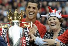كريستيانو رونالدو ووالدته