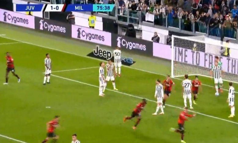 هدف ميلان الاول ضد يوفنتوس 1-1 تعليق فهد العتيبي