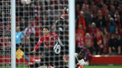 هدف ليفربول الاول ضد ميلان 1-0 تعلي عصام الشوالي