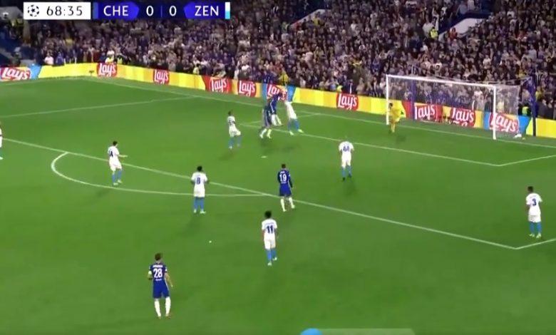 هدف روميلو لوكاكو ضد زينت 1-0 دوري ابطال اوروبا