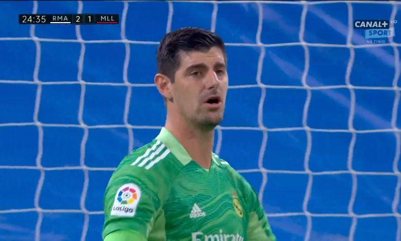 هدف ريال مايوركا الاول ضد ريال مدريد 2-1 الدوري الاسباني