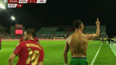 هدف كريستيانو رونالدو الثاني ضد ايرلندا 2-1 تصفيات كاس العالم