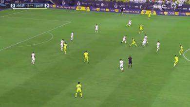 هدف الاتحاد الاول ضد النصر 1-0 الدوري السعودي