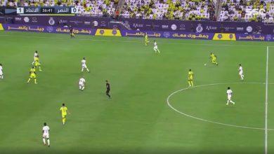 هدف النصر الاول ضد الاتحاد 1-1 الدوري السعودي