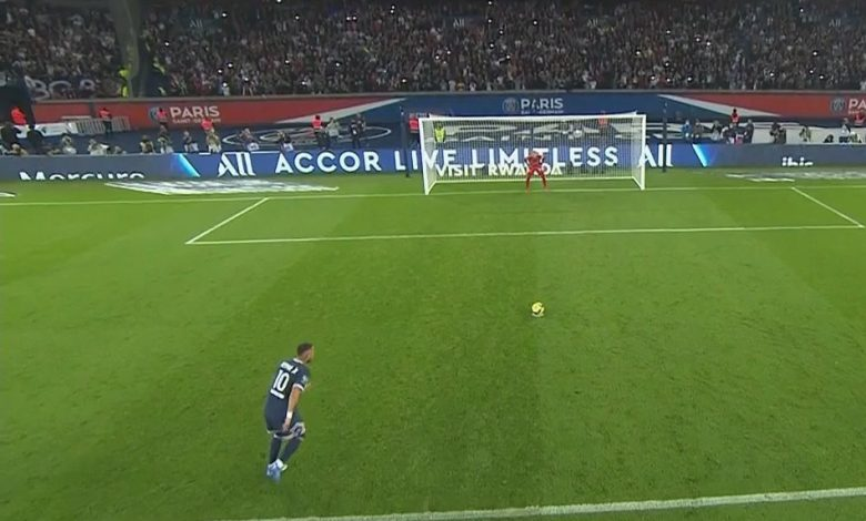هدف نيمار ضد اولمبيك ليون 1-1 الدوري الفرنسي