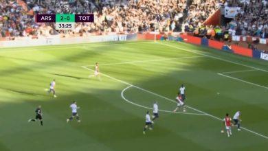 هدف ارسنال الثالث ضد توتنهام 3-0 الدوري الانجليزي
