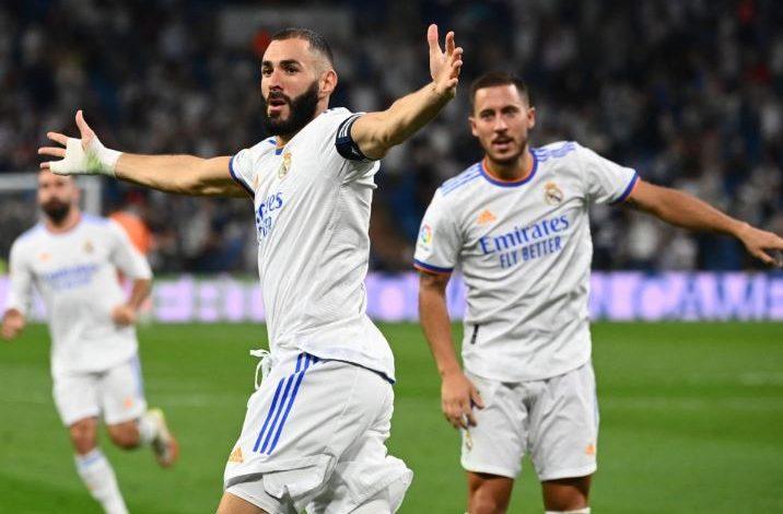 هدف كريم بنزيما الثاني ضد سيلتا فيجو 2-2 الدوري الاسباني