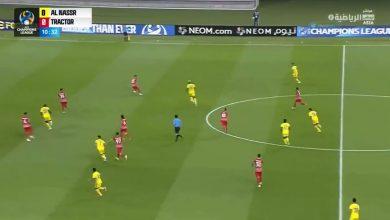 اهداف مباراة النصر وتراكتور 1-0 دوري ابطال اسيا