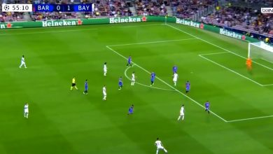 هدف ليفاندوفسكي ضد برشلونة 2-0 دوري ابطال اوروبا