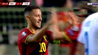 هدف هازارد ضد بلجيكا 2-0 تصفيات كاس العالم