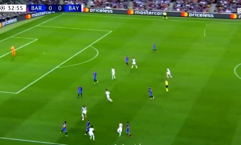 هدف توماس مولر في مرمى برشلونة 1-0 تعليق رؤوف خليف