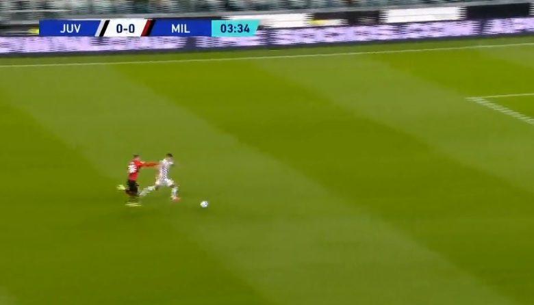 هدف الفارو موراتا الاول ضد ميلان 1-0 تعليق فهد العتيبي