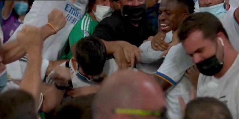 هدف ريال مدريد الثالث ضد سيلتا فيجو 3-2 الدوري الاسباني