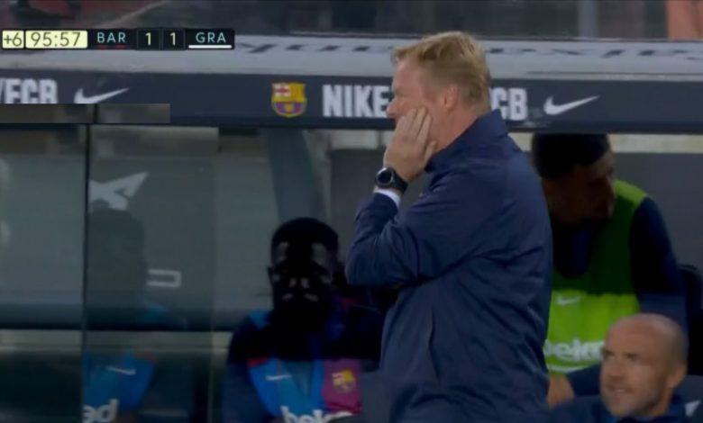 اهداف مباراة برشلونة ضد غرناطة 1-1 الدوري الاسباني