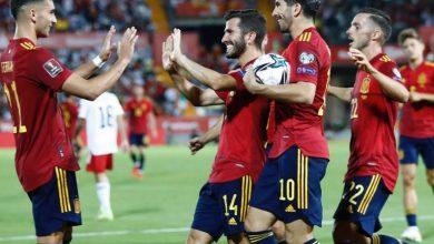اهداف اسبانيا وجورجيا 4-0 تصفيات كاس العالم