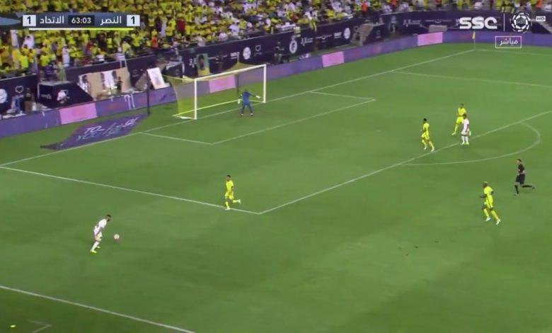 هدف ايجور كورنادو ضد النصر 2-1 الدوري السعودي