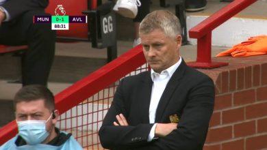 هدف استون فيلا الاول ضد مانشستر يونايتد 1-0 الدوري الانجليزي