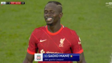هدف ساديو ماني ضد ليدز يونايتد 3-0 الدوري الانجليزي