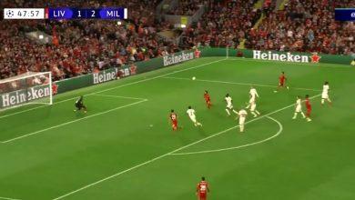 هدف محمد صلاح ضد ميلان 2-2 دوري ابطال اوروبا