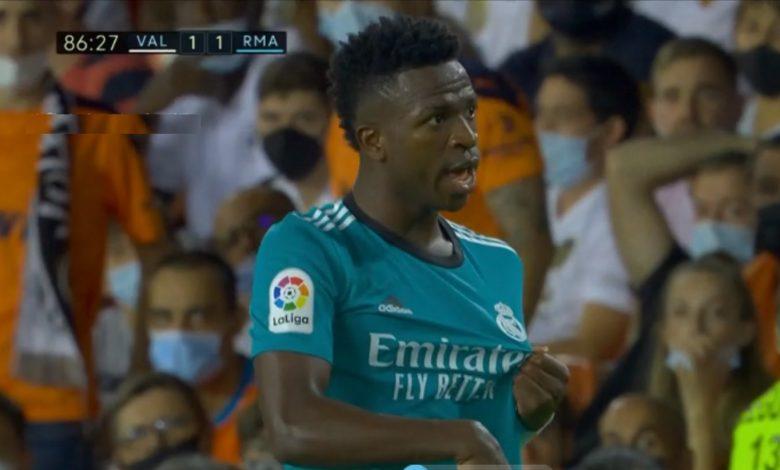 هدف ريال مدريد الاول ضد فالنسيا 1-1 الدوري الاسباني