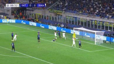هدف ريال مدريد الاول ضد انتر ميلان 1-0 دوري ابطال اوروبا