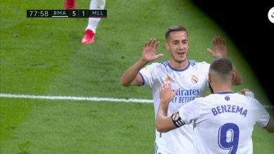 هدف ريال مدريد الخامس ضد ريال مايوركا 5-1 الدوري الاسباني