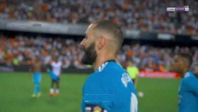 ملخص مباراة ريال مدريدضد فالنسيا في الدوري الاسباني