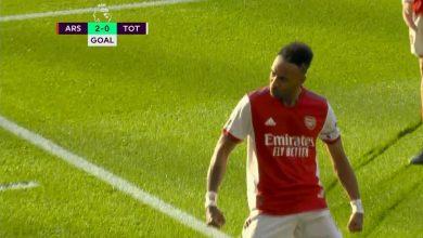 هدف ارسنال الثاني ضد توتنهام 2-0 الدوري الانجليزي