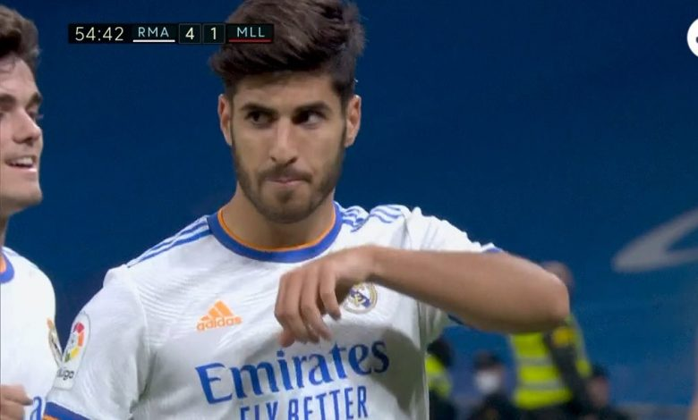 هدف ريال مدريد الرابع ضد ريال مايوركا 4-1 الدوري الاسباني