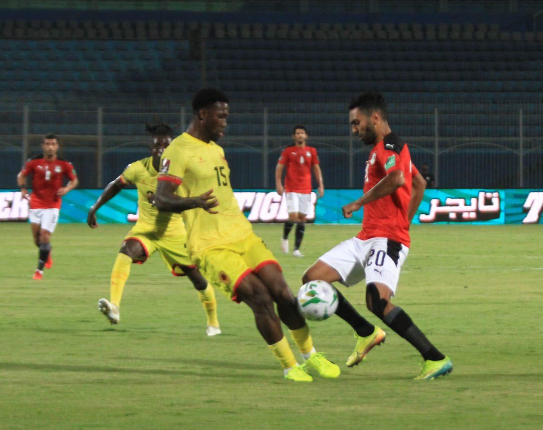 نتيجة مباراة مصر وانجولا في التصفيات المؤهلة لكأس العالم 2022