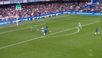 اهداف مانشستر سيتي ضد تشيلسي 1-0 الدوري الانجليزي