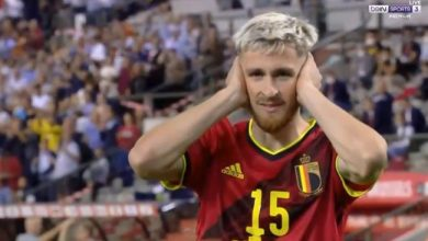 اهداف مباراة بلجيكا والتشيك 3-0 تصفيات كاس العالم