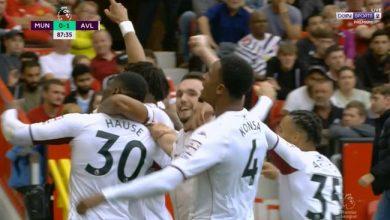 اهداف استون فيلا ضد مانشستر يونايتد 1-0 الدوري الانجليزي