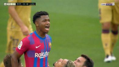 ملخص مباراة برشلونة ضد ليفانتي في الدوري الاسباني