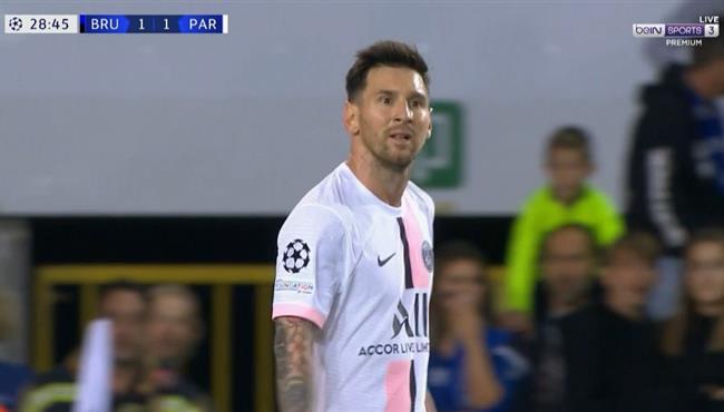 اهداف باريس سان جيرمان ضد كلوب بروج 1-1 دوري ابطال اوروبا