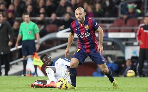 ماسكيرانو أكثر لاعب يملك روحاً رياضياً في برشلونة